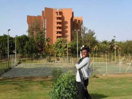 A l'entrée de Ouagadougou, l'hôtel SILMANDE